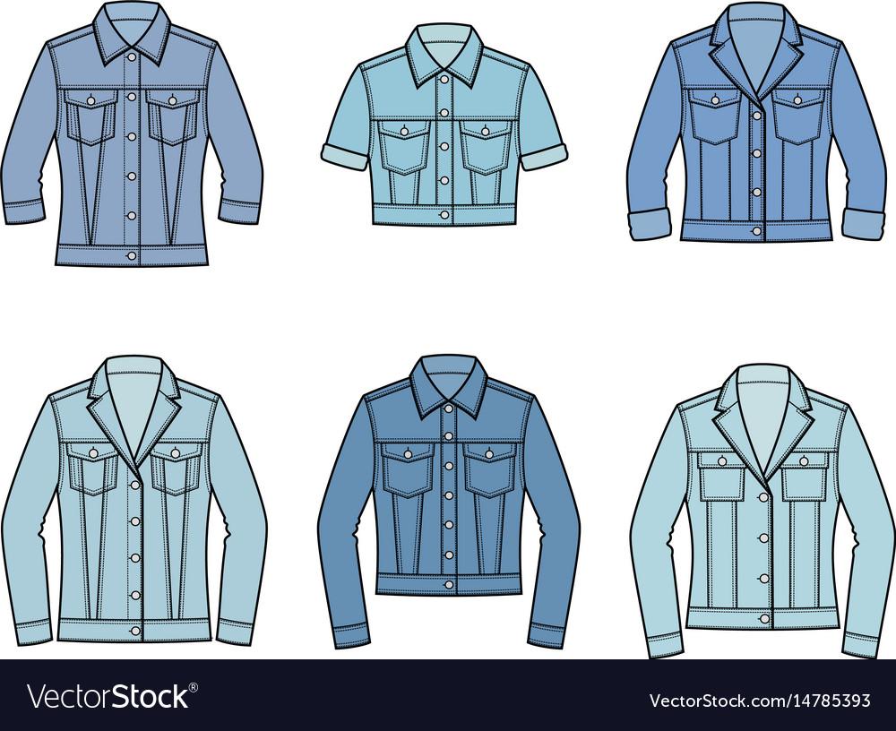 Jean jacket set