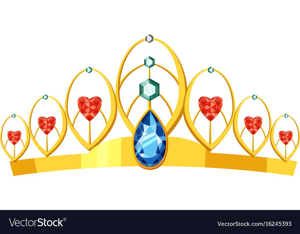 princess tiara icon cartoon style royalty free vector image rh vectorstock com cartoon tiara black and white cartoon tarantula