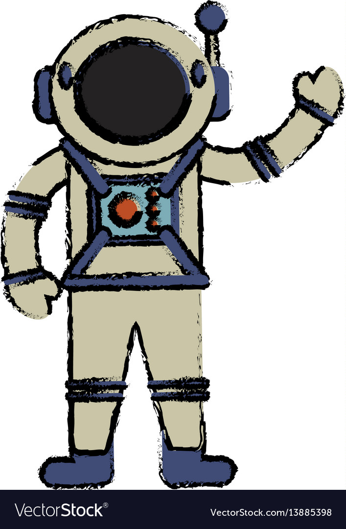 Astronaut suit spaceman image vector image