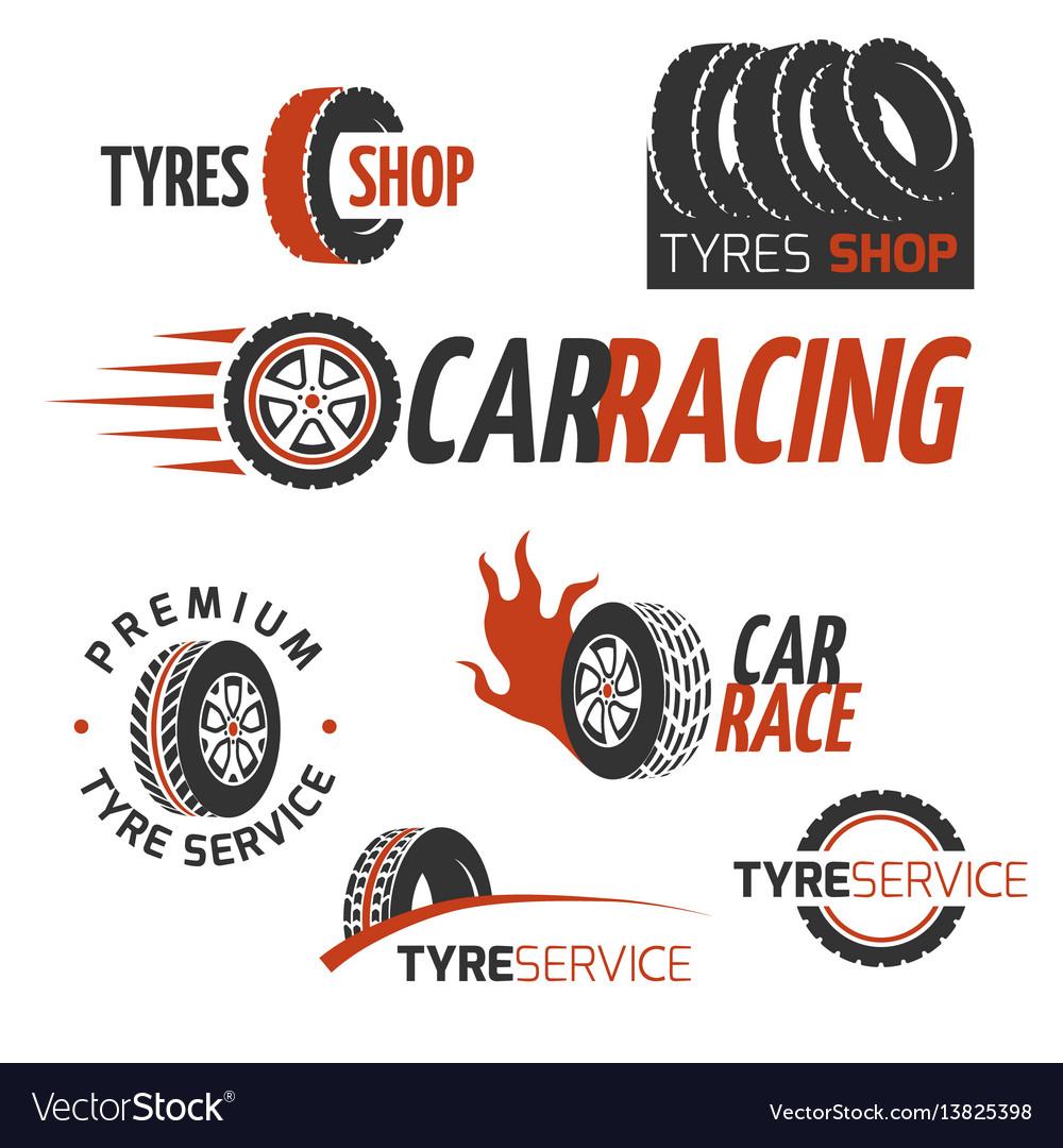 Automobile rubber tire shop car wheel racing