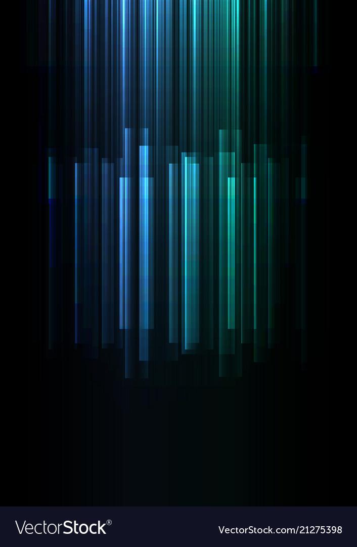 Fade speed bar overlap in dark background