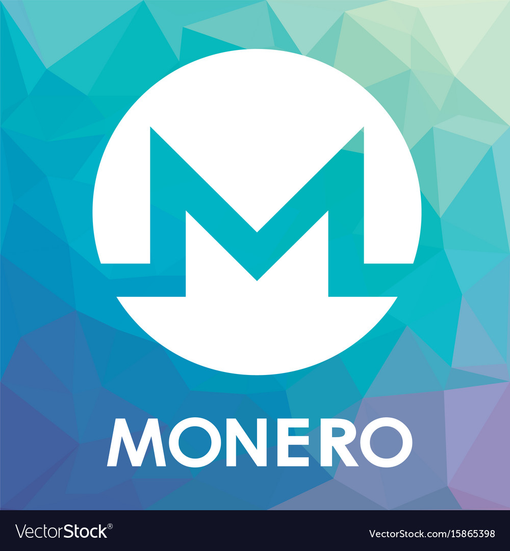Monero xmr blockchain cripto currency logo