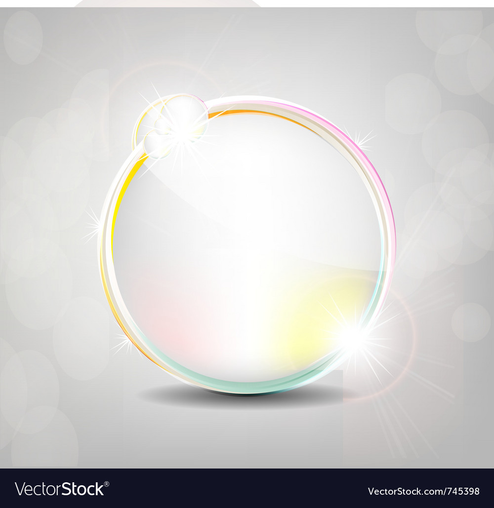 Shiny background vector