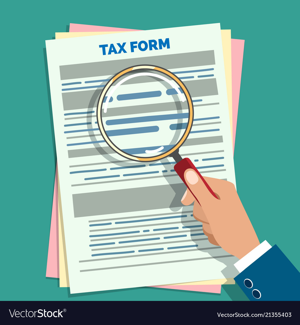 Tax form audit