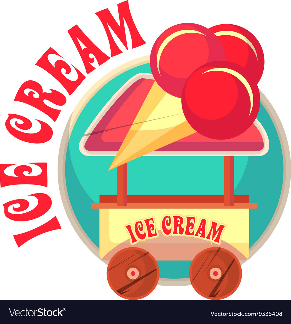 Mobile ice cream truck