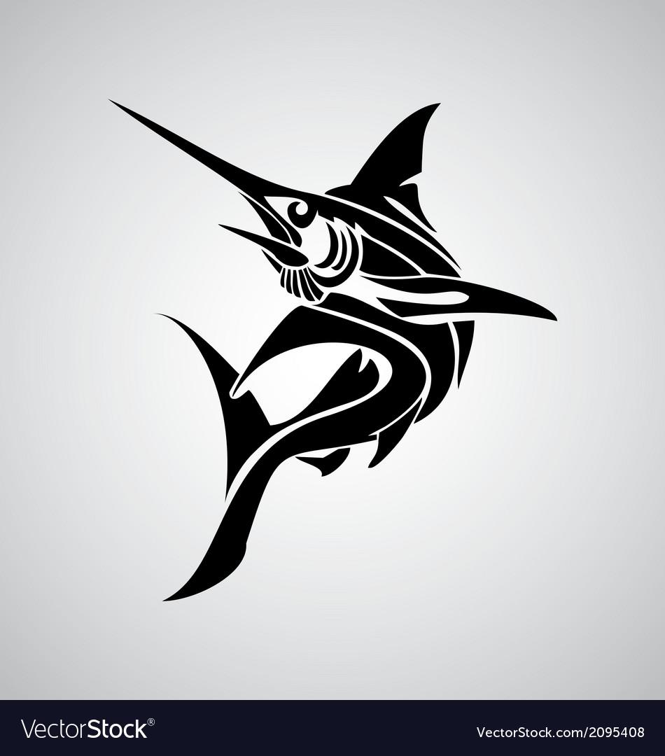 Tribal Marlin Fish