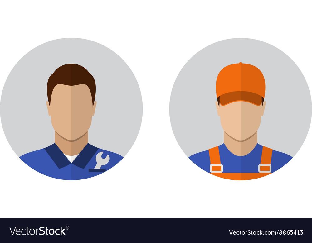 Auto mechanic icons
