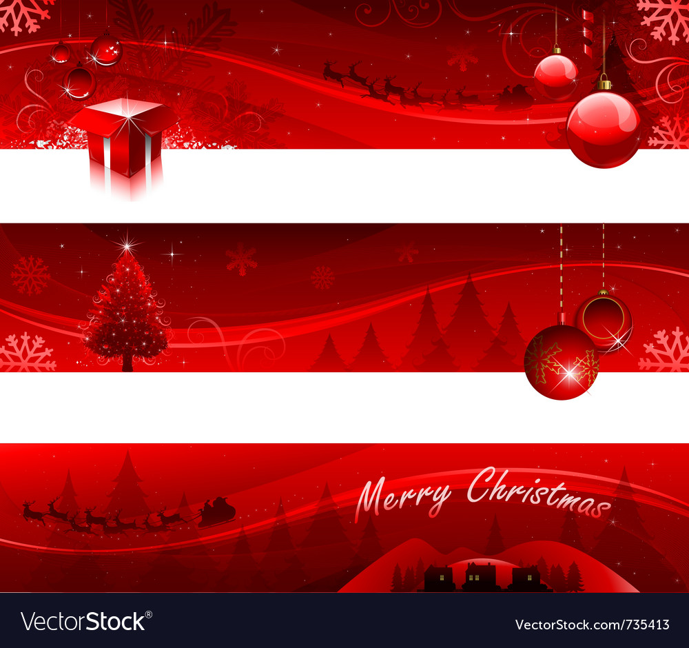 Christmas Greeting Card Design Royalty Free Vector Image