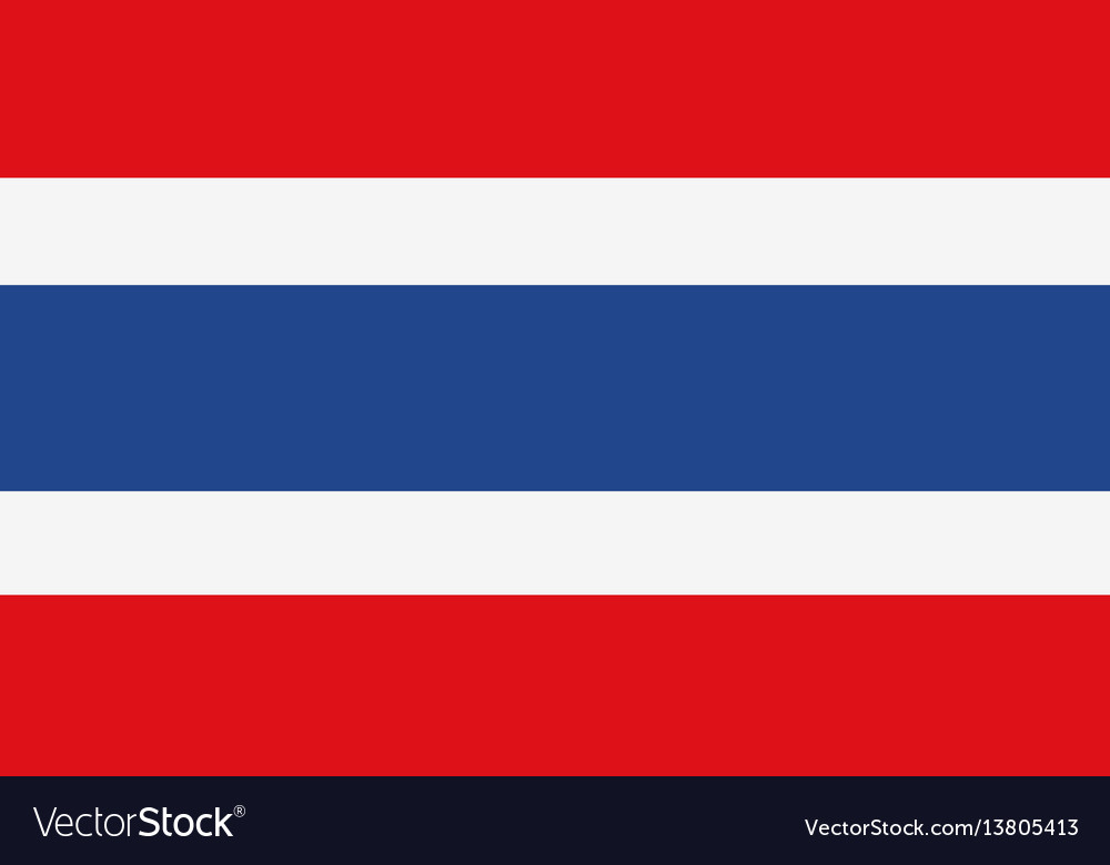 Thailand flag for independence day and