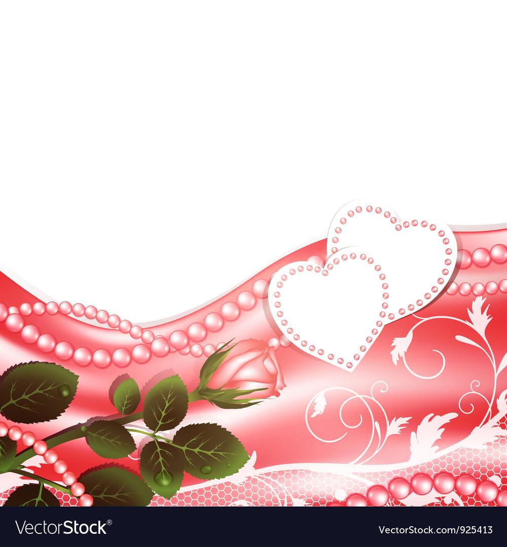 Wedding love frame Royalty Free Vector Image - VectorStock