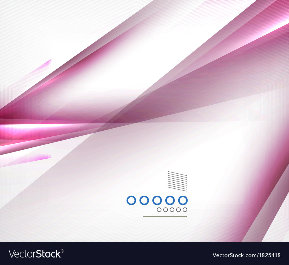 Purple blurred motion lines design vector image