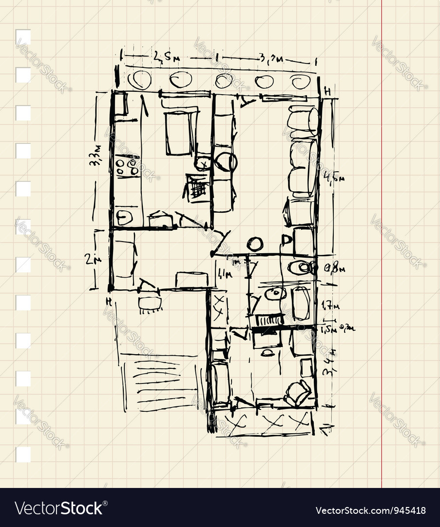 Redevelopment of apartment sketch
