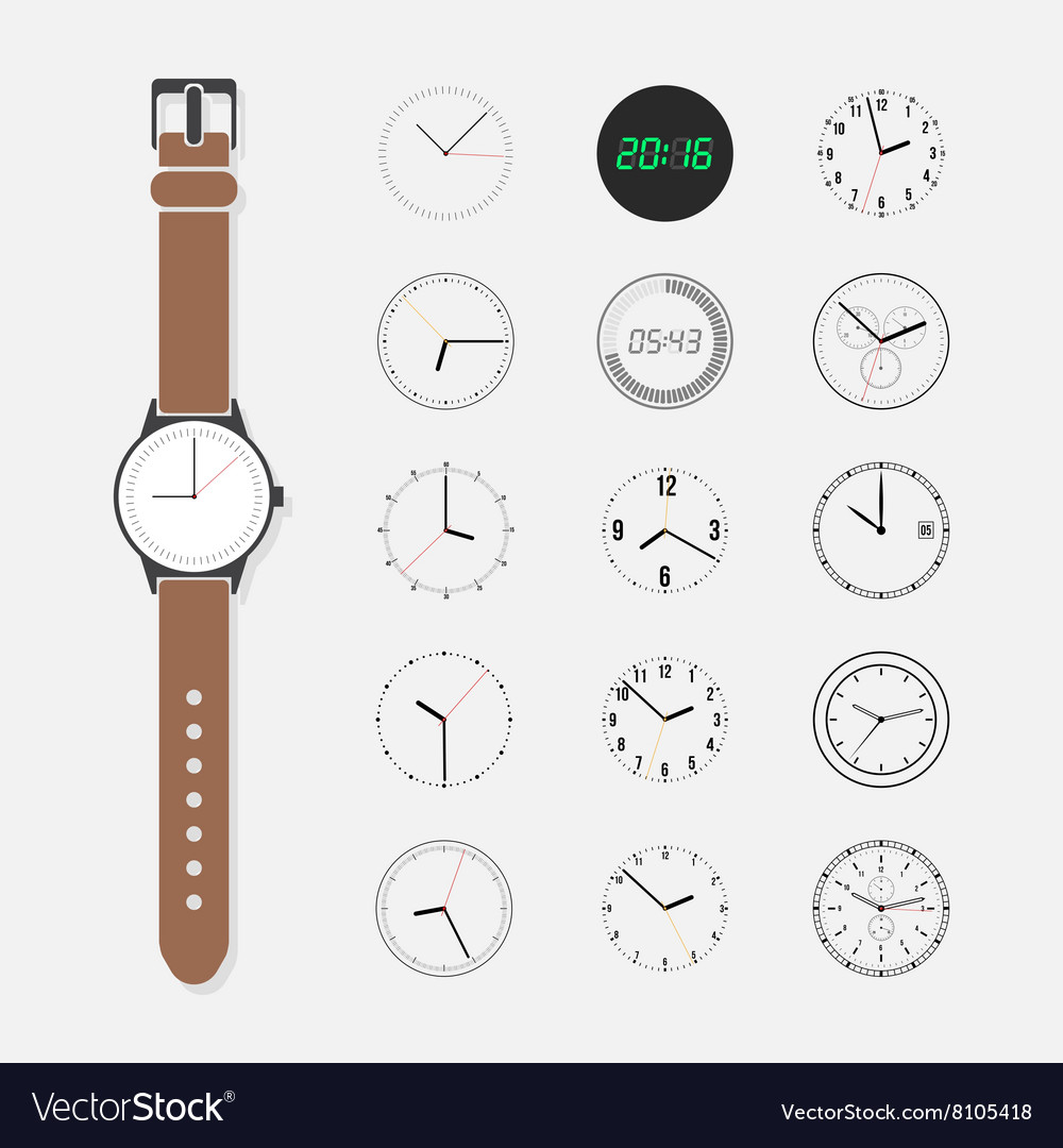 Watch face set