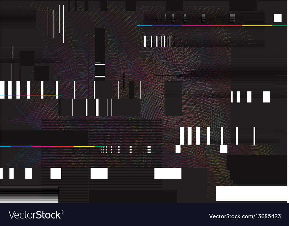 Abstract glitch background glitched