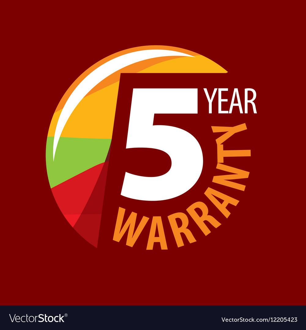 Logo 5 years warranty
