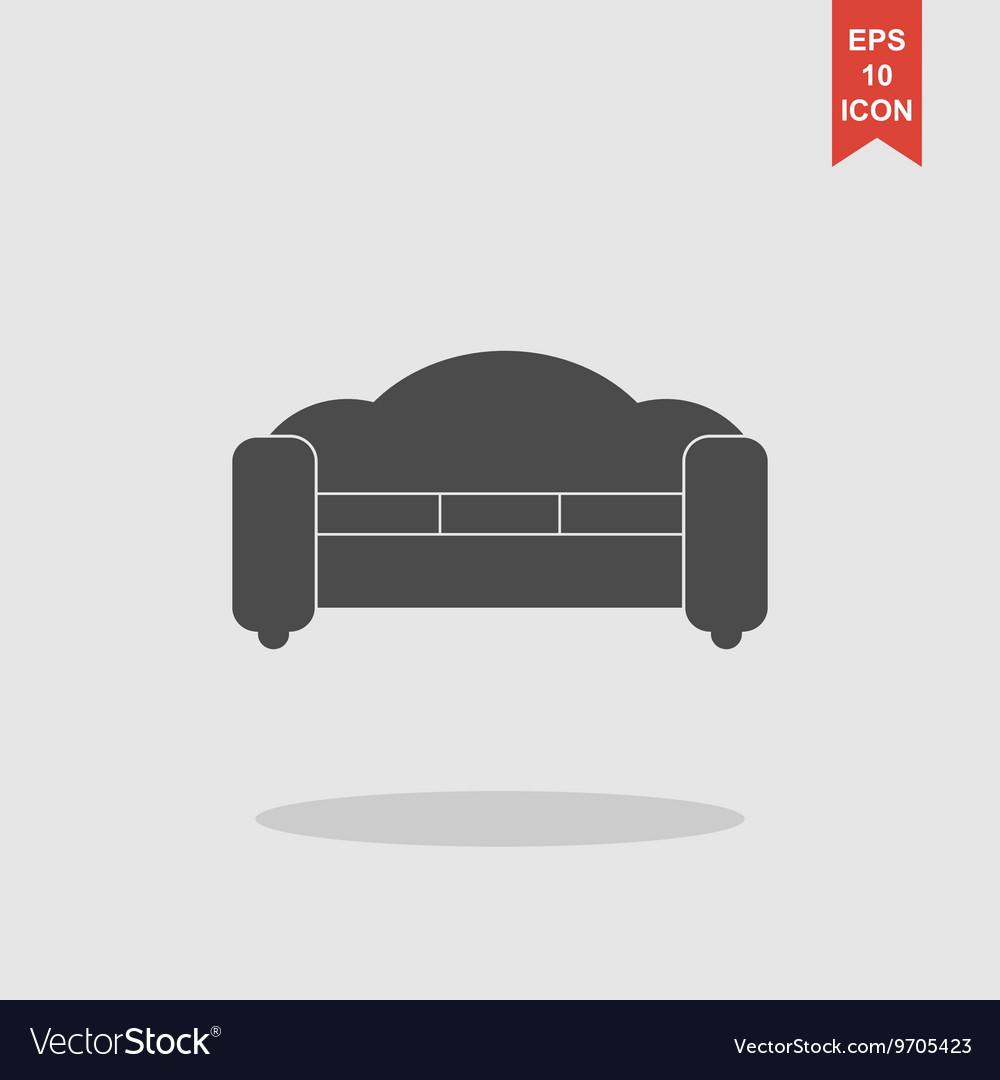 Sofa Icons Modern design flat style icon