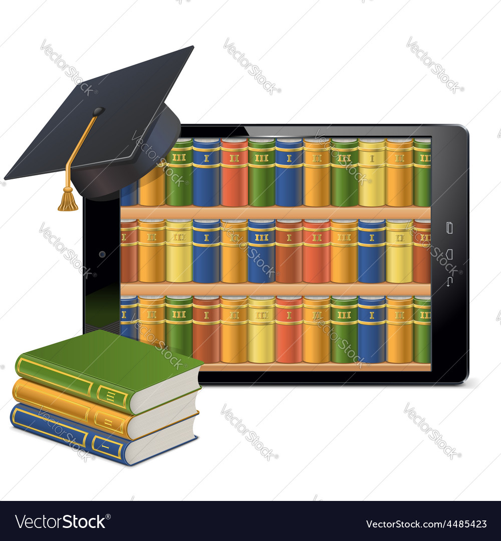 Tablet PC with Library