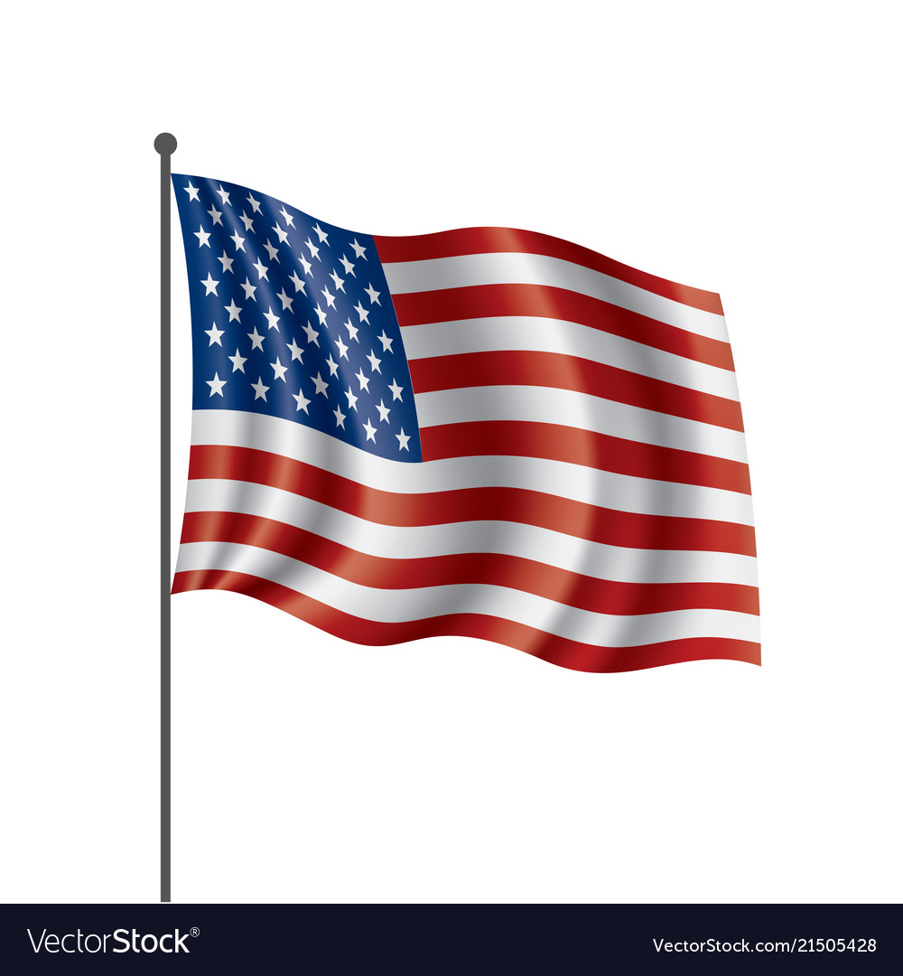Usa flag isolated