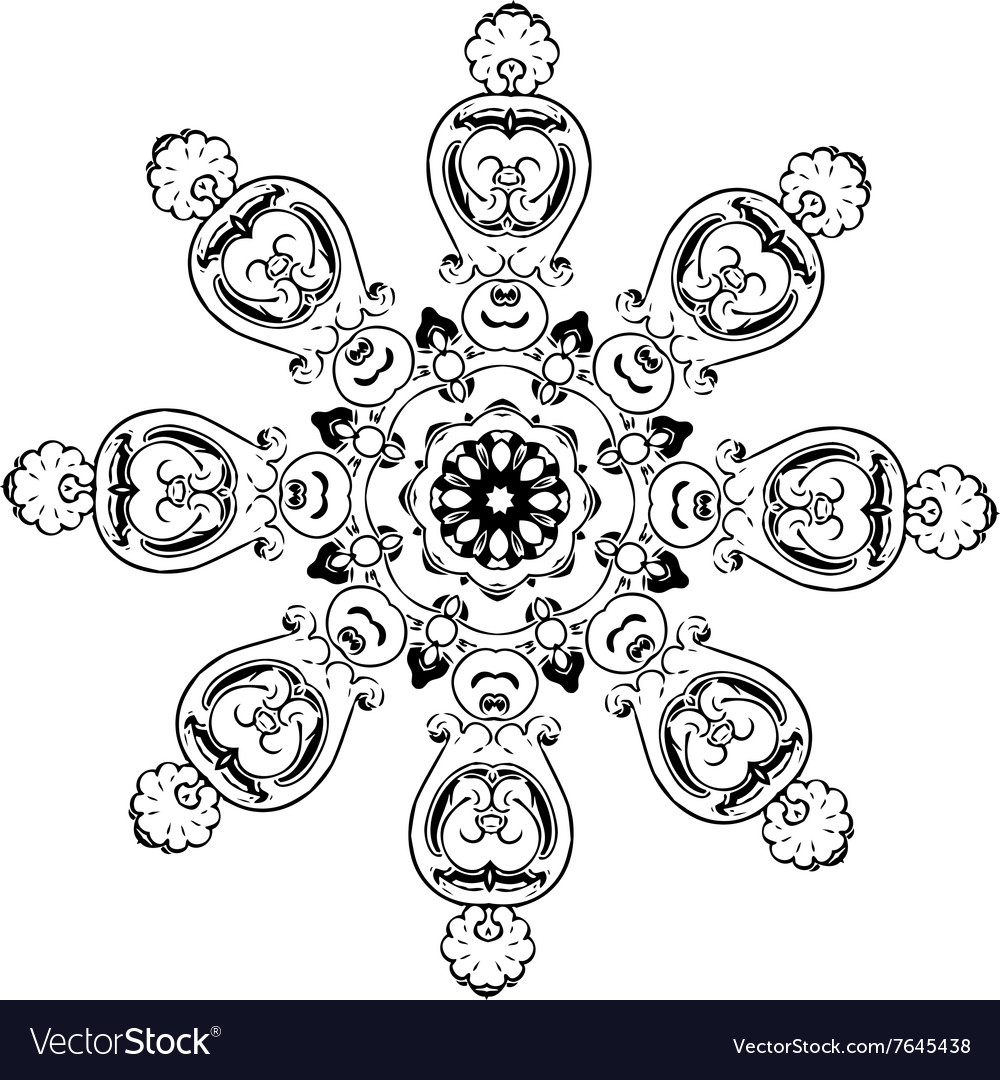 Mandala ethnic indian design