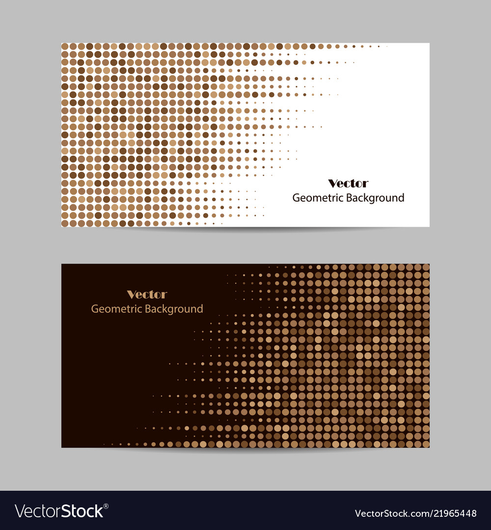 Abstract brown dotted background halftone