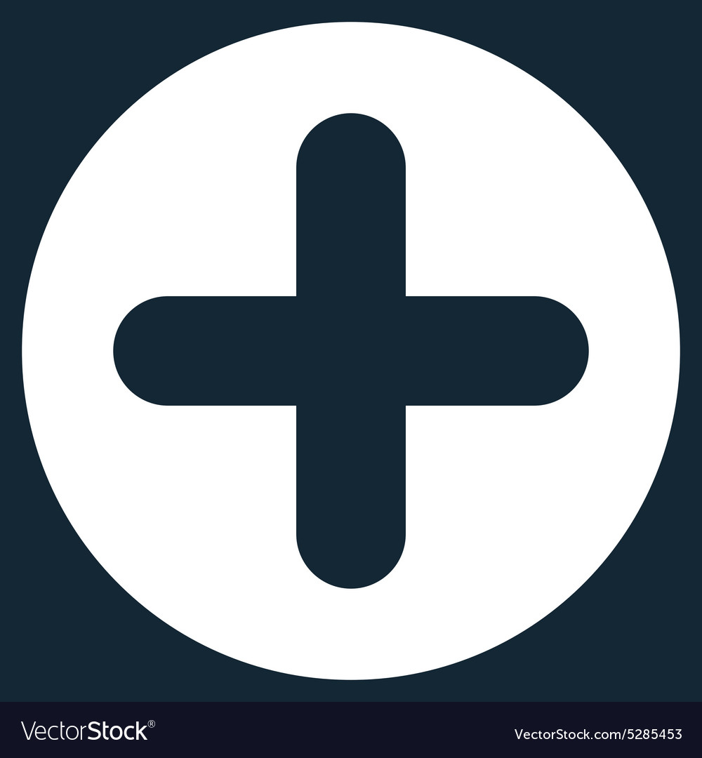 Create Flat White Color Icon Vector Image