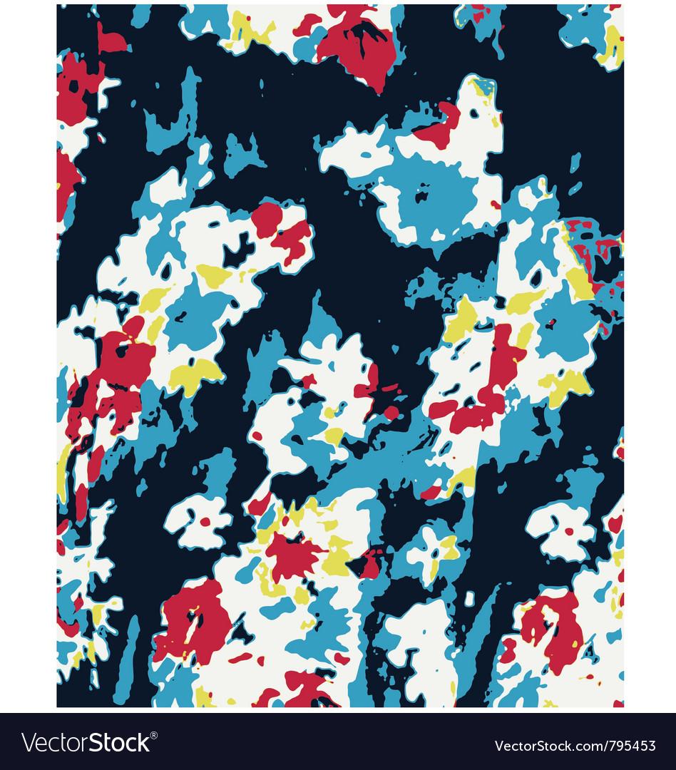 Flower pattern texture vector image