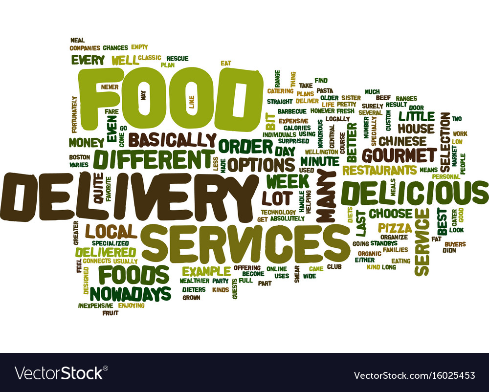 Food Delivery Service Background