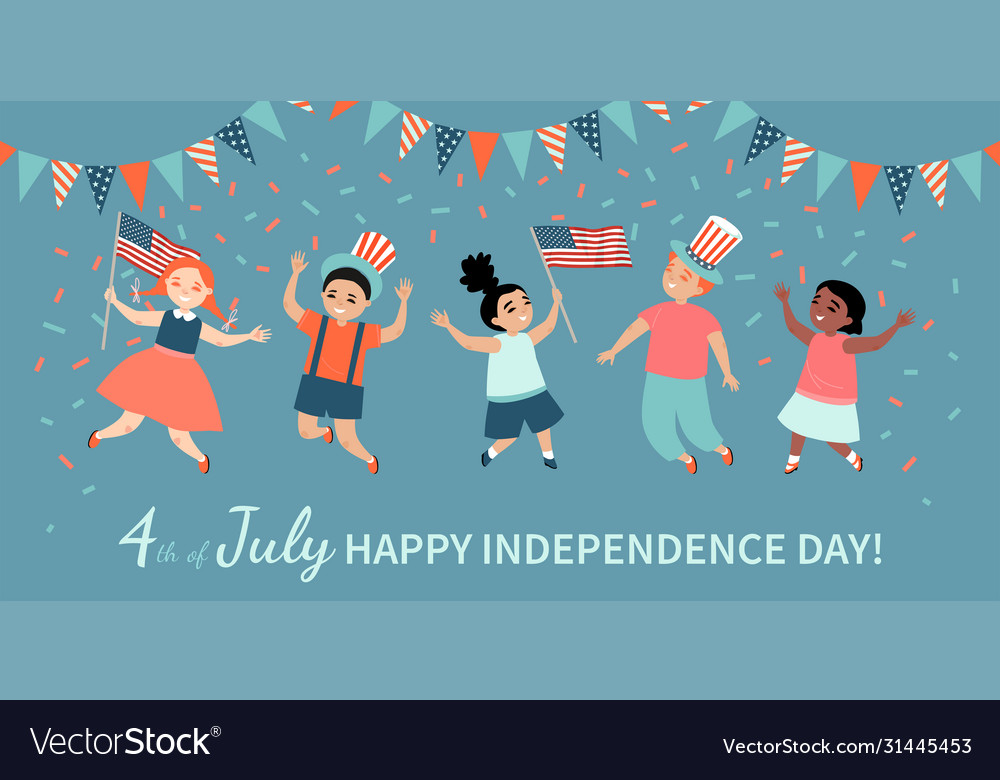Happy fourth july america independence day