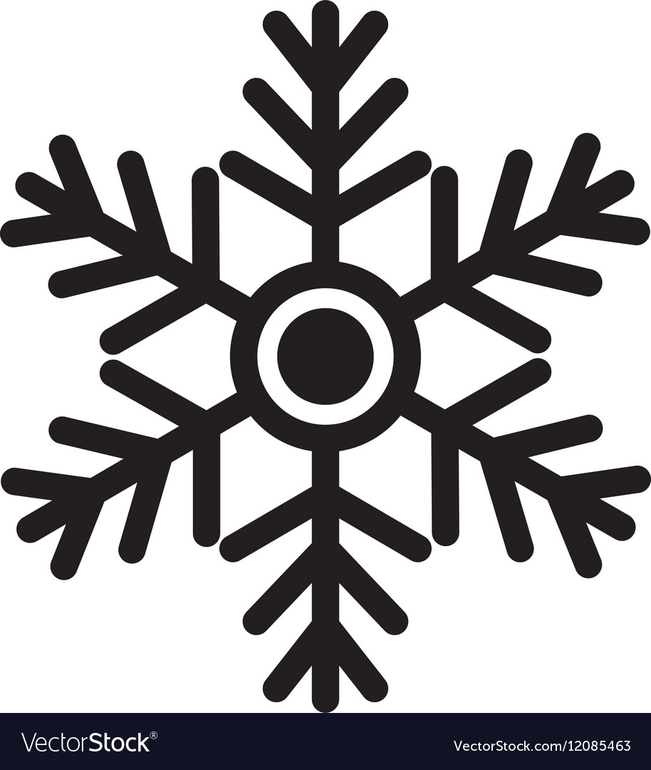 snowflake winter snow royalty free vector image rh vectorstock com snow vector free snow vector animation