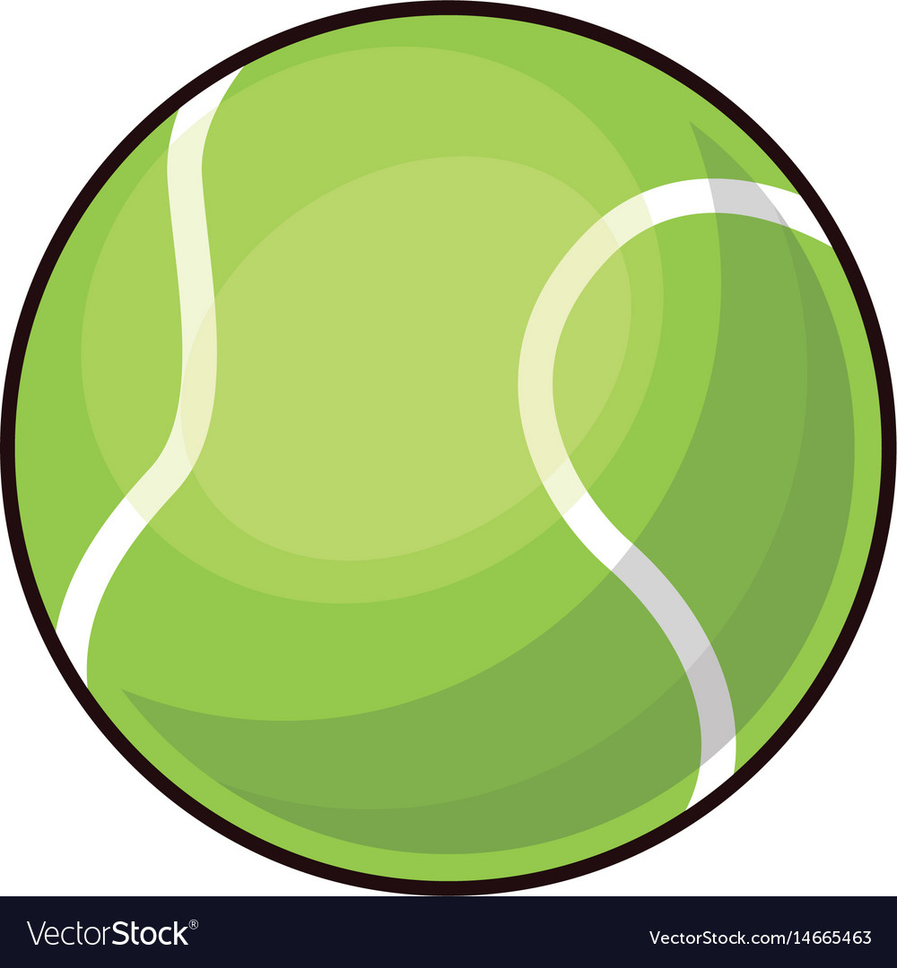 Tennis ball sport play equipment image