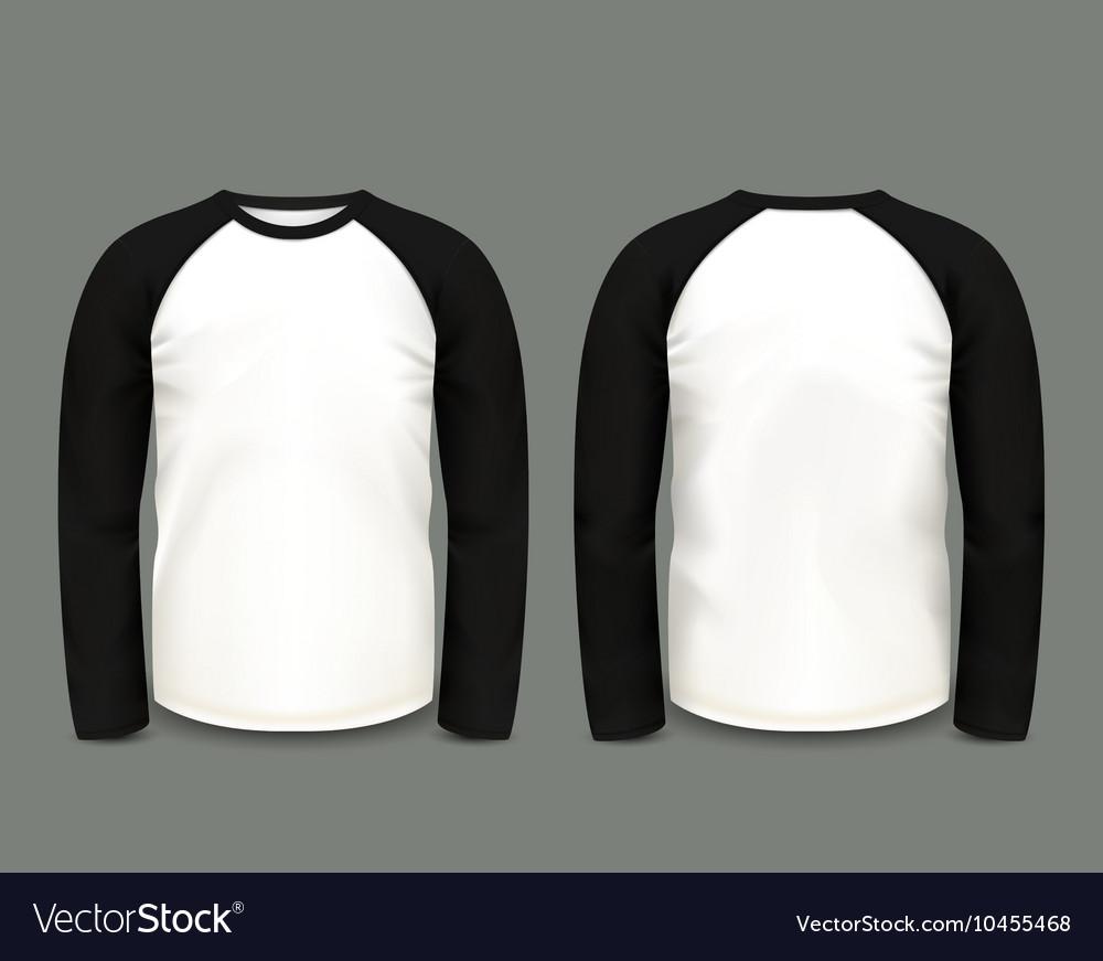 Black raglan sweatshirt long sleeve
