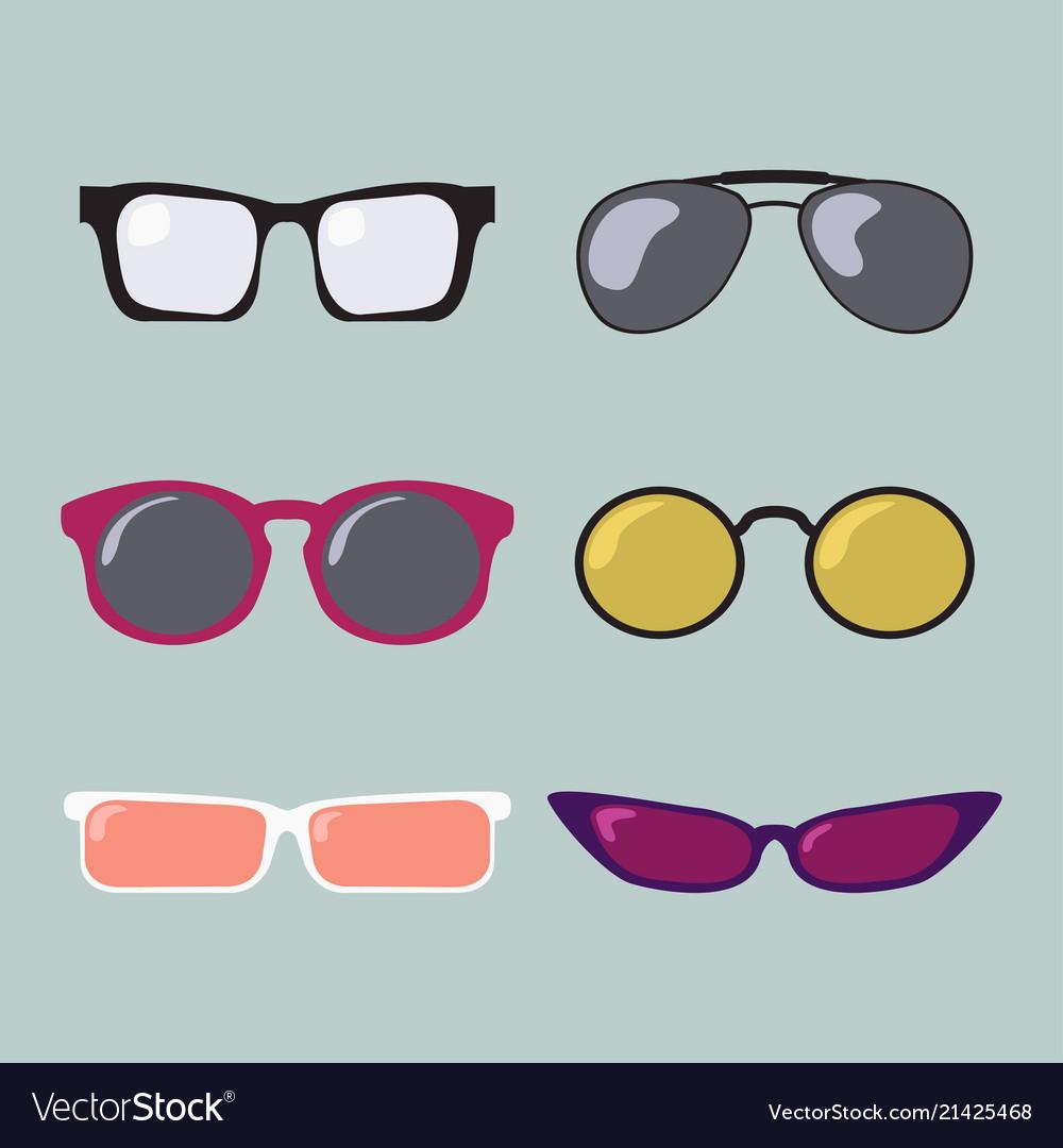 Glasses color modern