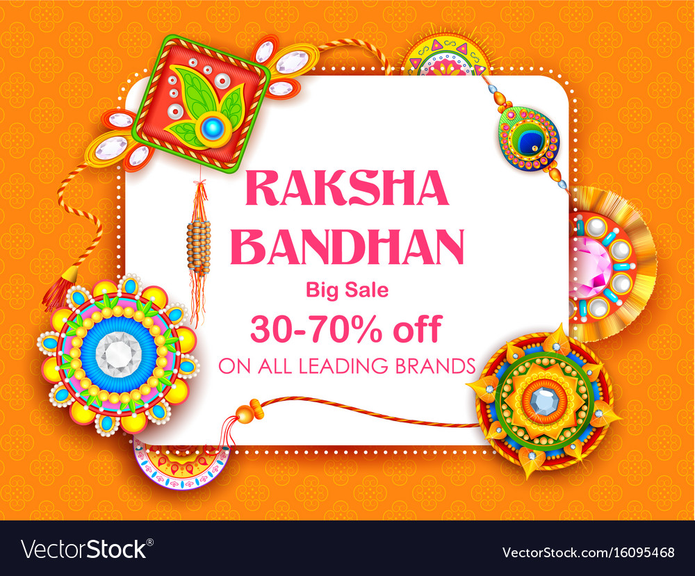 Sale and promotion banner poster with decorative