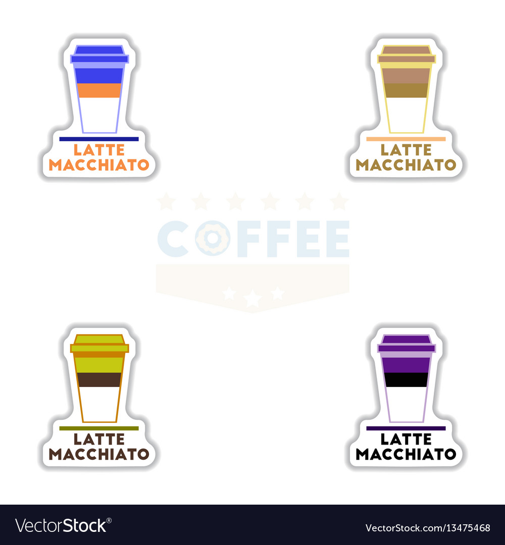 Sets of label frames and badges icons
