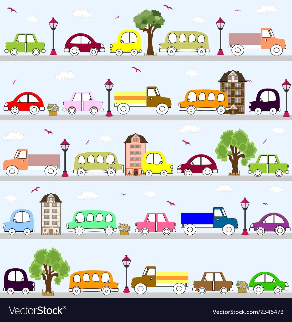 Baby vehicle pattern design