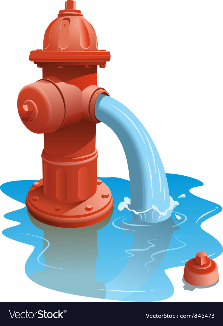 open fire hydrant royalty free vector image vectorstock circus presenter clipart se présenter clipart
