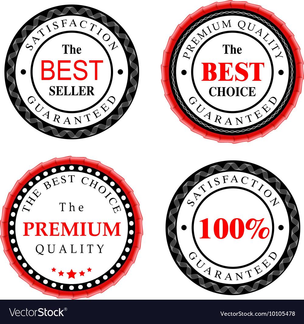 Best Seller Badges Design