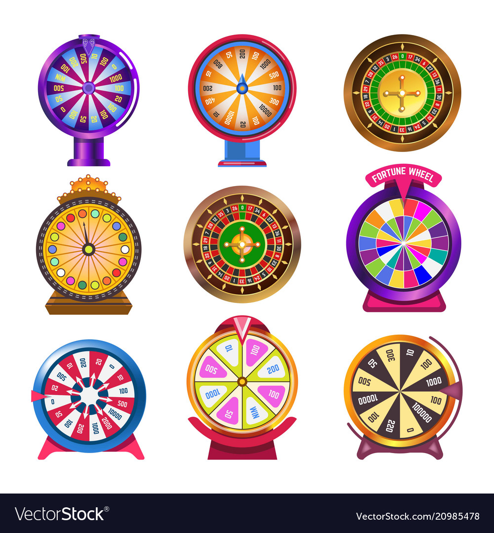 Wheel of fortune casino roulette icons