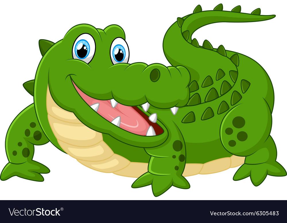 Cute crocodile