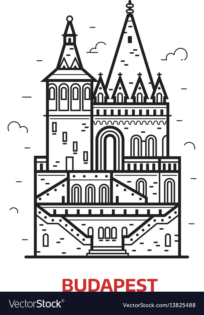 Budapest landmark icon