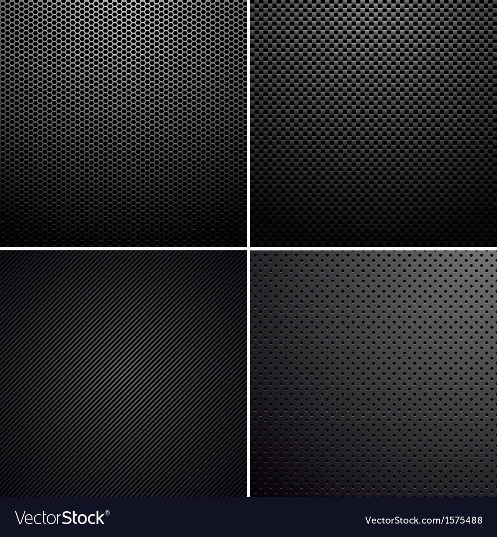 Metal-carbon textures