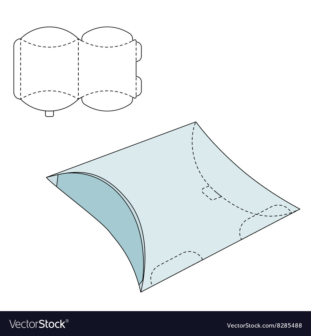 Pillow folding box