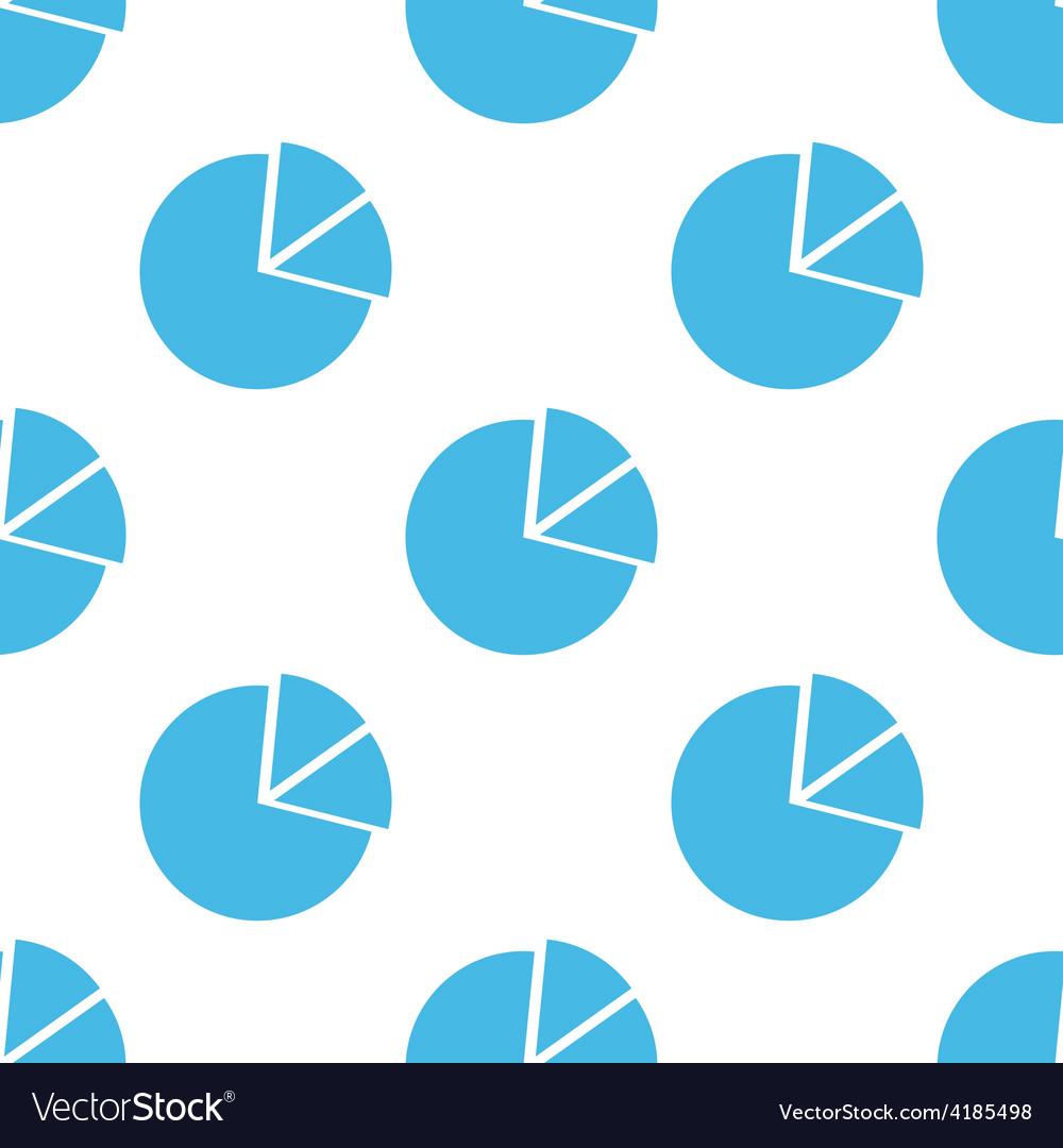 Circle chart seamless pattern
