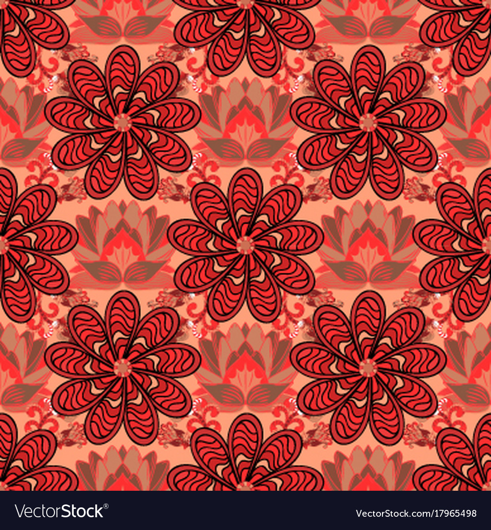 Design Gift Wrapping Paper Greeting Cards Posters Vector Image