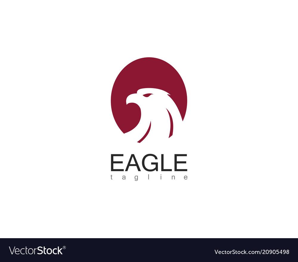 Eagle circle logo