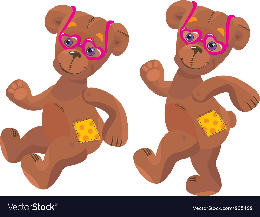 Teddy bear with sunglasses