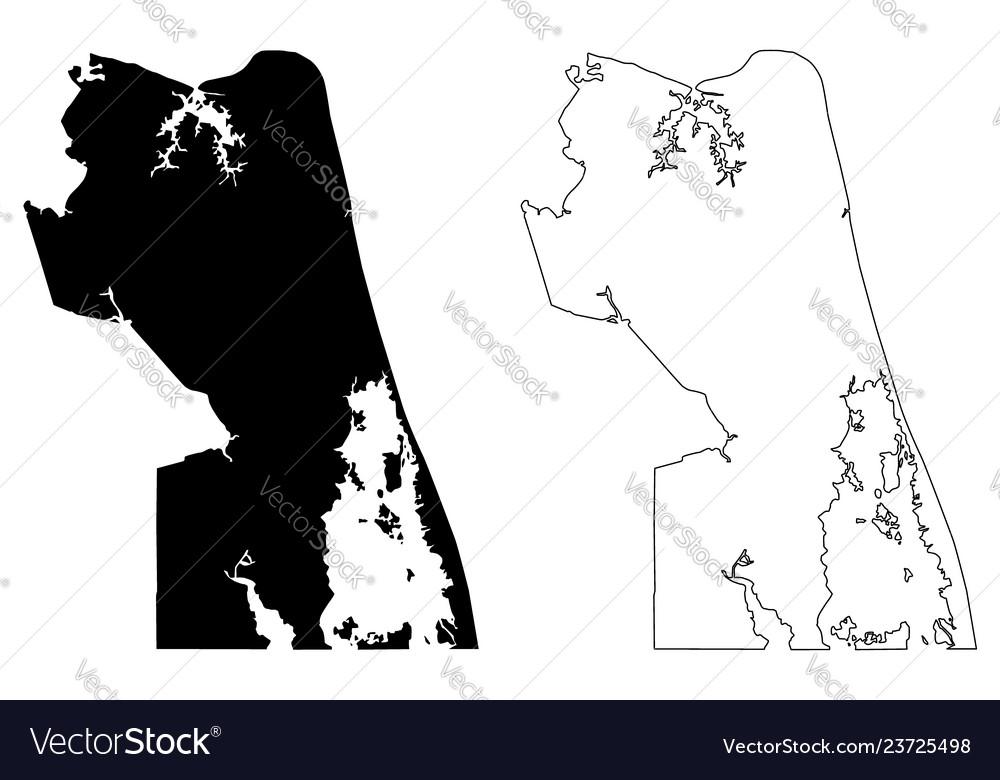 Virginia beach city map