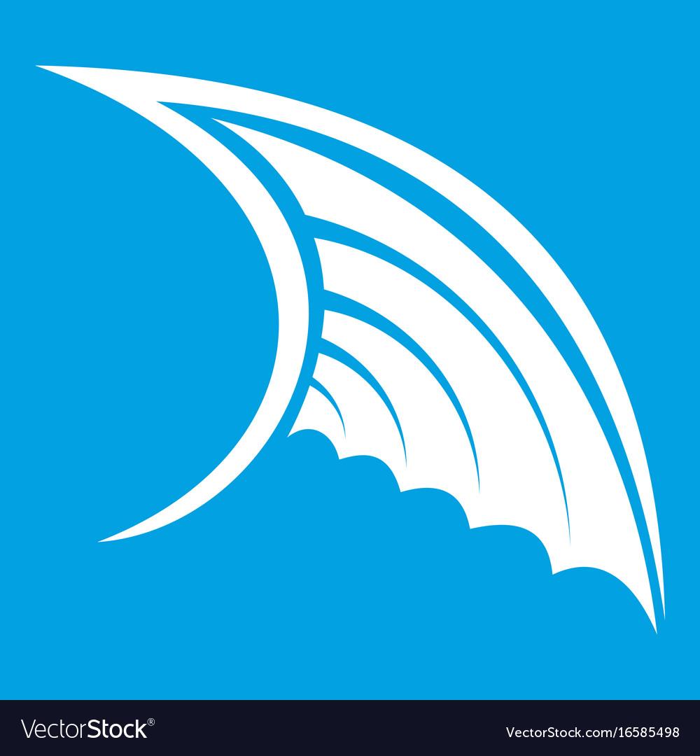 Wing icon white