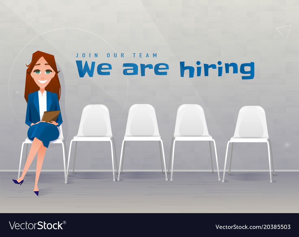 Human resources interview recruitment young