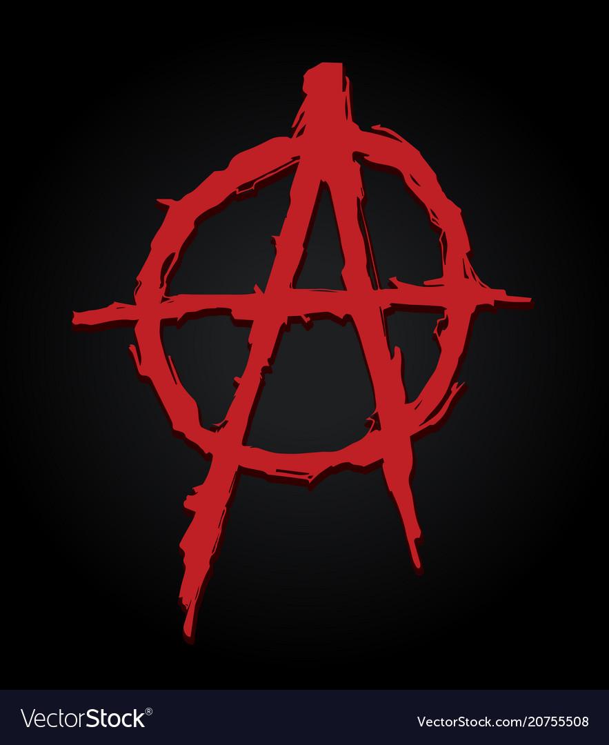 Anarchy symbol letter a